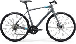 Велосипед Merida Speeder 100 28 matt dark grey (blu/pin/blk)
