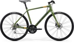 Велосипед Merida Speeder 100 28 matt fog green (dark green/gold)