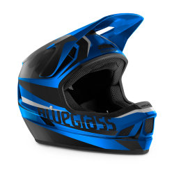 Шлем Bluegrass Legit BLUE METALLIC BLACK