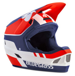 Шлем Bluegrass Legit White Red Blue