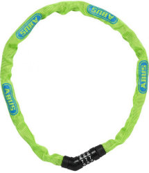Замок кодовый Abus 4804C/75 STEEL-O-CHAIN lime