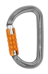 Карабин Petzl Am'D Triact-Lock grey orange