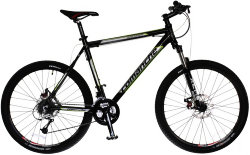 Велосипед Comanche BACKFIRE DISC 26 black-green