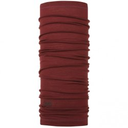 Бандана Buff Lightweight Merino Wool Solid Wine
