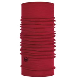 Бандана Buff Midweight Merino Wool Solid Red