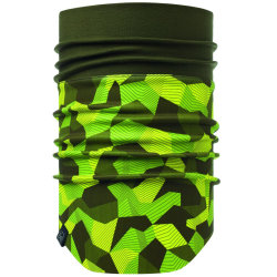Бандана Buff Windproof Neckwarmer Block Camo Green