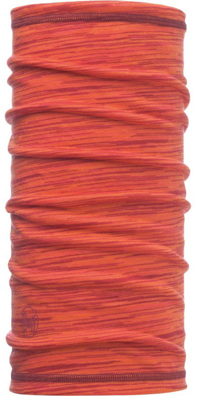 Бандана BUFF 3/4 LIGHTWEIGHT MERINO WOOL coral stripes BU 117006.506.10.00