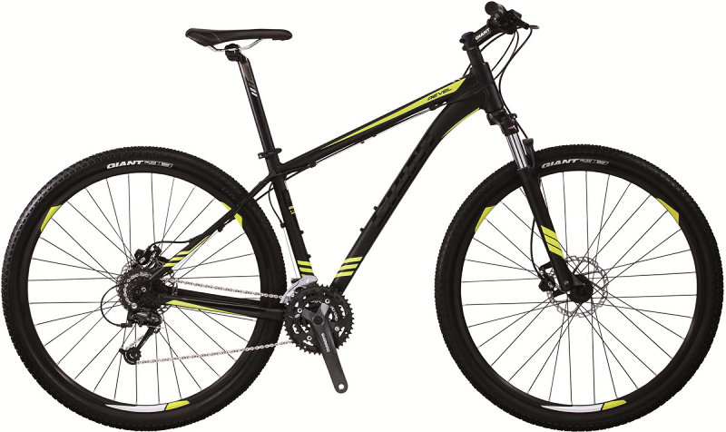Велосипед Giant REVEL 0 29 black-yellow 51640215
