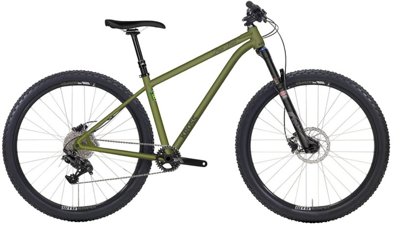 Велосипед Kross PURE TRAIL olive-matt R16KE29183782Z