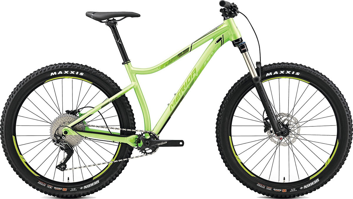 Велосипед Merida BIG.TRAIL 400 27.5 glossy light green 6110789511