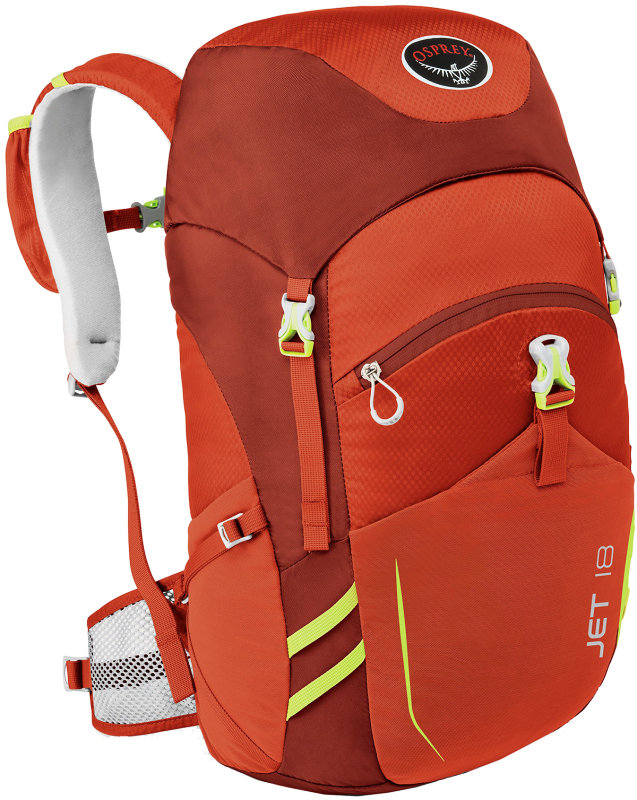 Рюкзак Osprey JET 18 strawberry red 009.0375