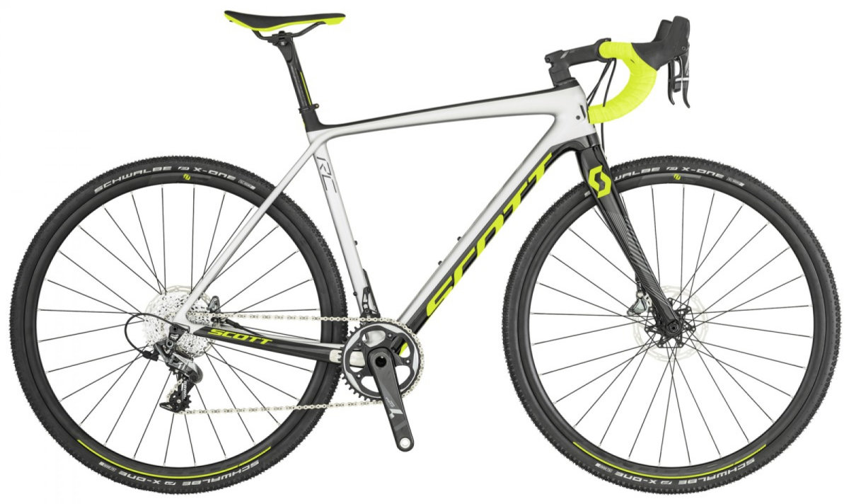 Велосипед Scott Addict CX RC white/yellow 269909.023