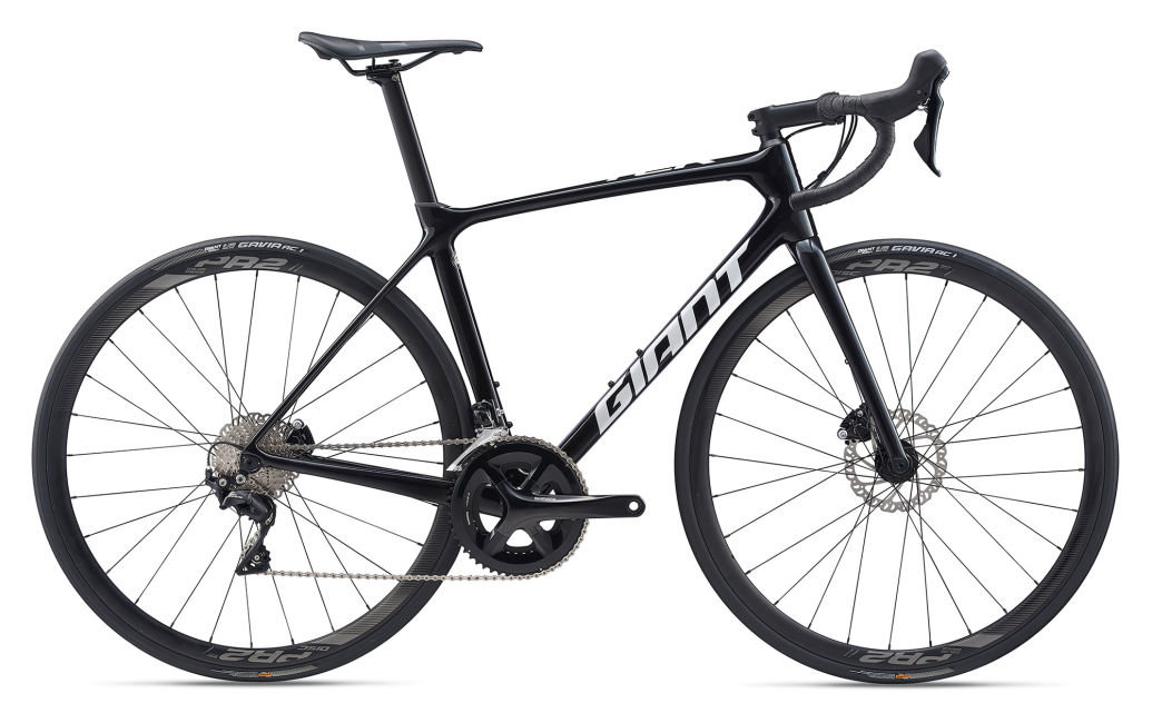 Велосипед Giant TCR Advanced 2 Disc Pro Compact Metallic Black/White 2000066105