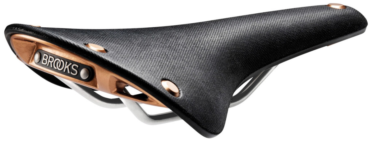 Сідло Brooks Cambium C17 Special Organic Black with Copper Riv 016329
