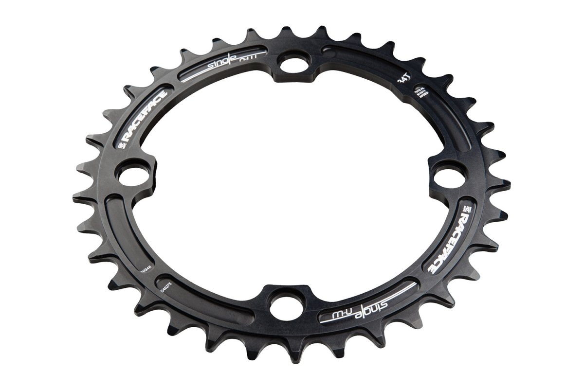 Звезда RaceFace Chainring, narrow wide, 104x34, blk, 10-12s