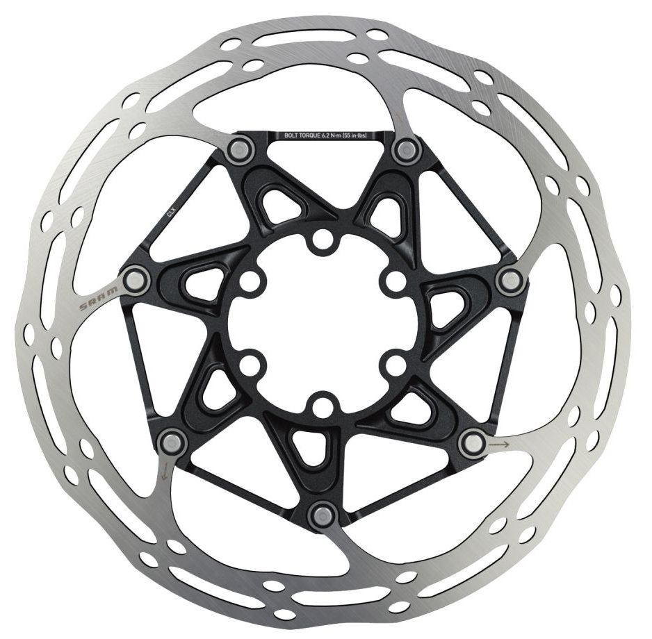 Ротор Sram CNTRLN 2P BLACK ST ROUNDED 140 мм 00.5018.037.016
