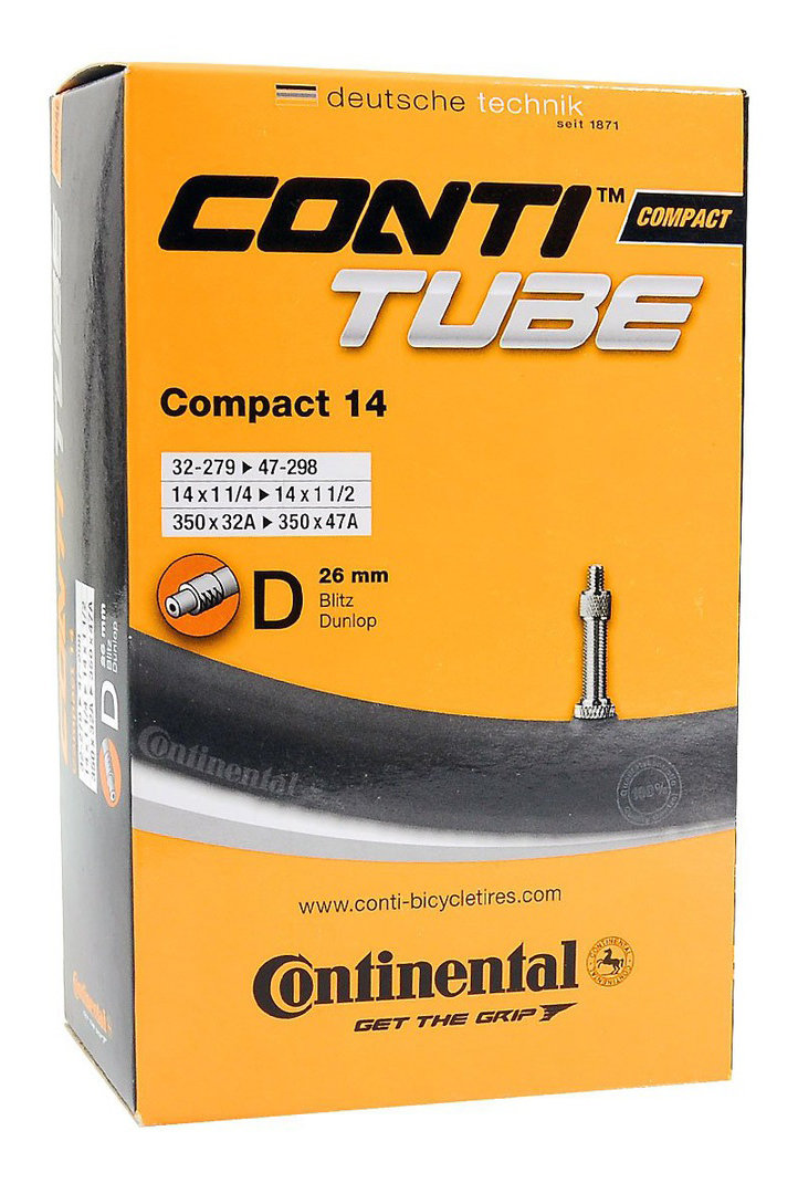 "Камера Continental Compact 14"", 32-279 -> 47-298, DV26 181081"