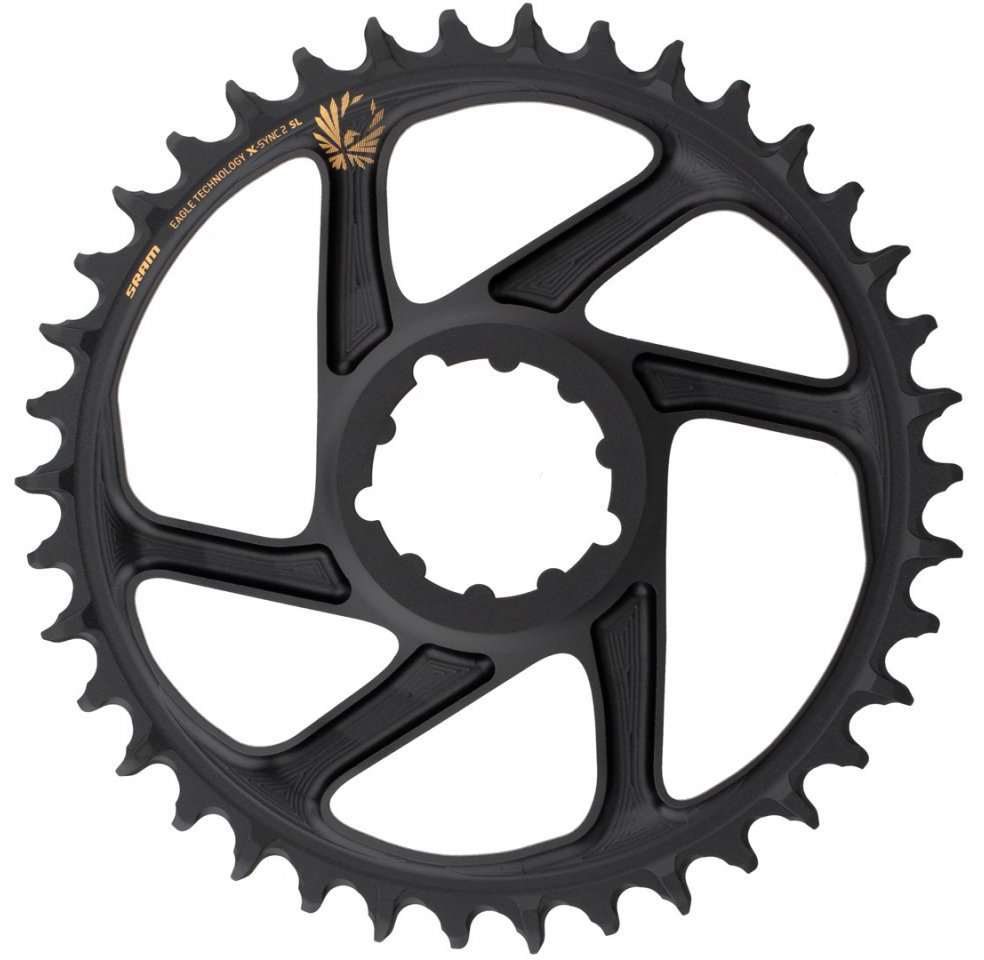 Звезда Sram CR X-SYNC SL Eagle 38T DM 3 OFFSET B GLD 11.6218.040.010