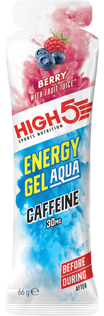 Гель энергетический High5 Energy Gel Aqua Caffeine Berry 66g 5027492 003123