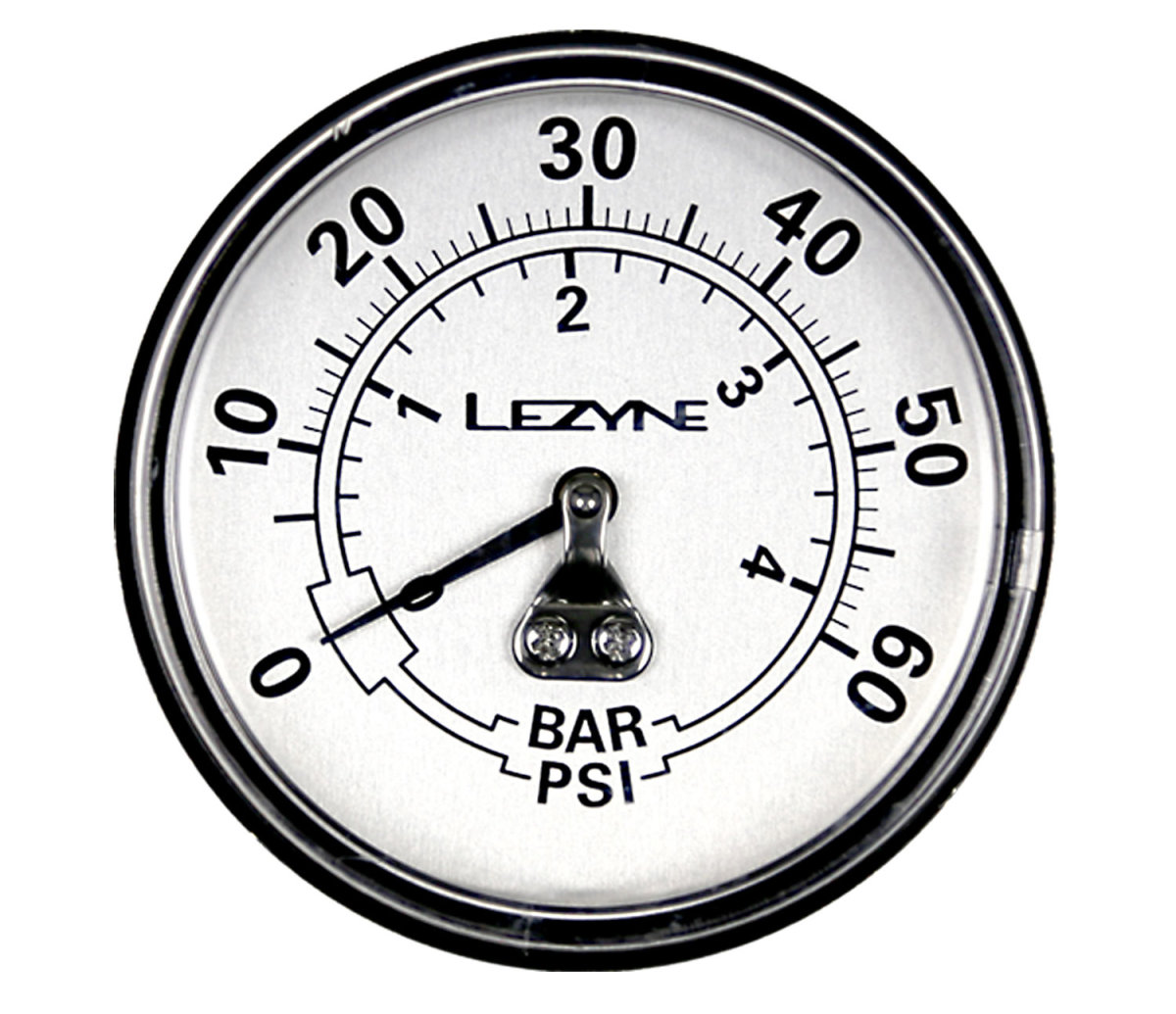 "Манометр Lezyne 60 PSI Gauge 2.5"" серебристый 4712805 982509"
