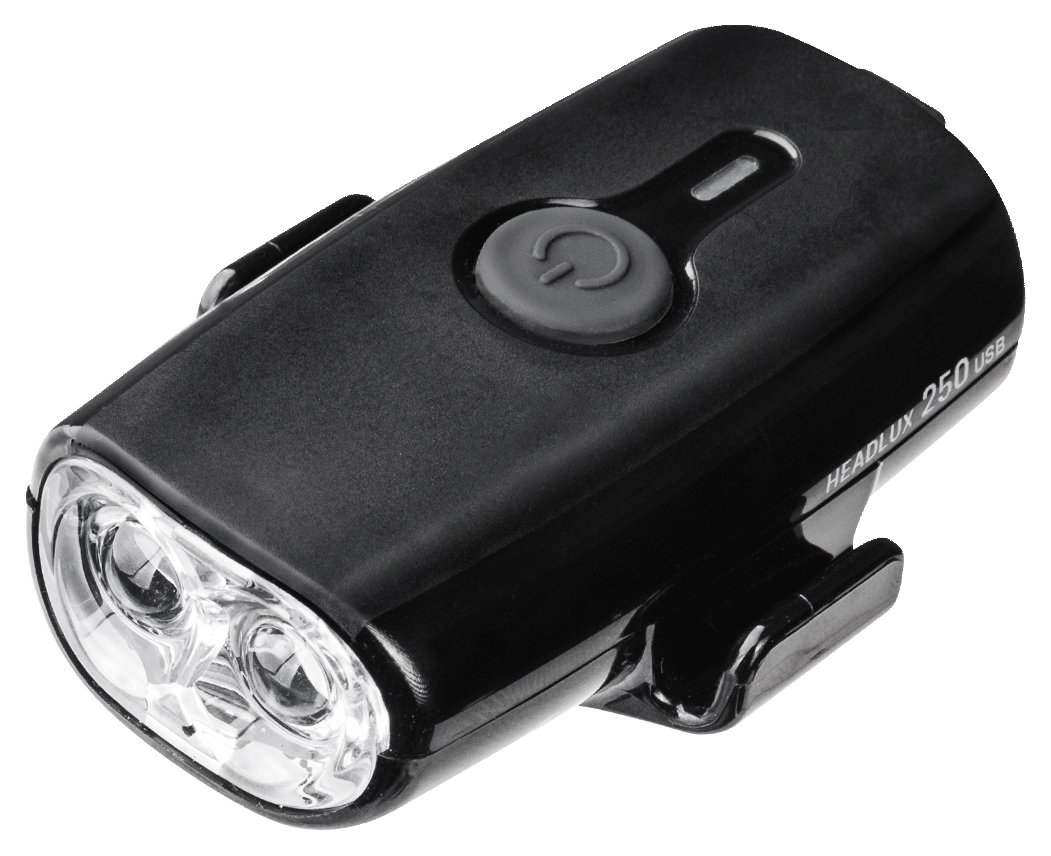 Фара Topeak HeadLux 250 USB Black