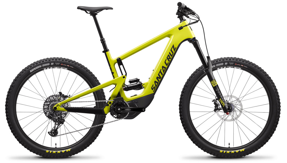Велосипед Santa Cruz Heckler 1 CC R yellow D637098022