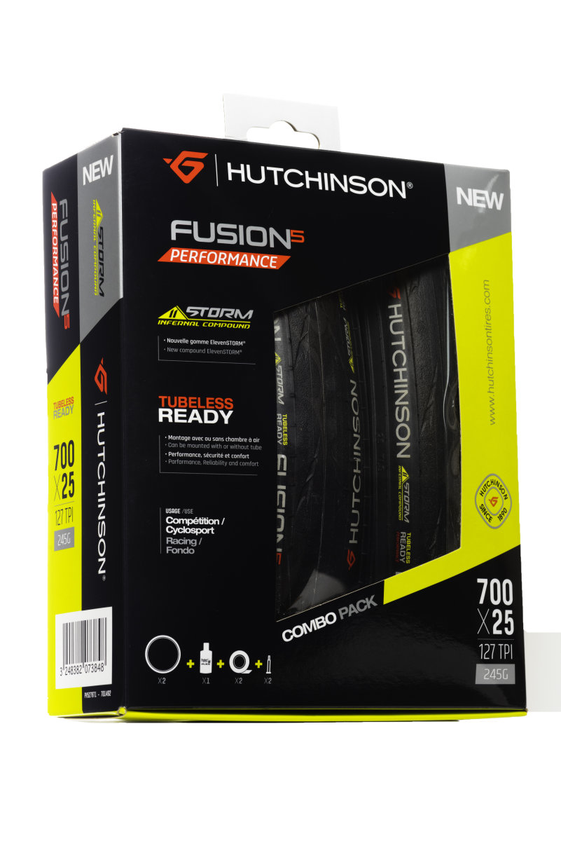 Набор покрышек Hutchinson Kit Fusion 5 TLReady + ACC PV527971