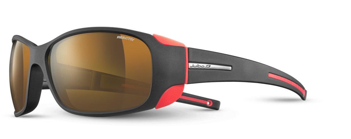 Очки Julbo Montebianco Black/orange neon Reactiv Cameleon Brown J4155022