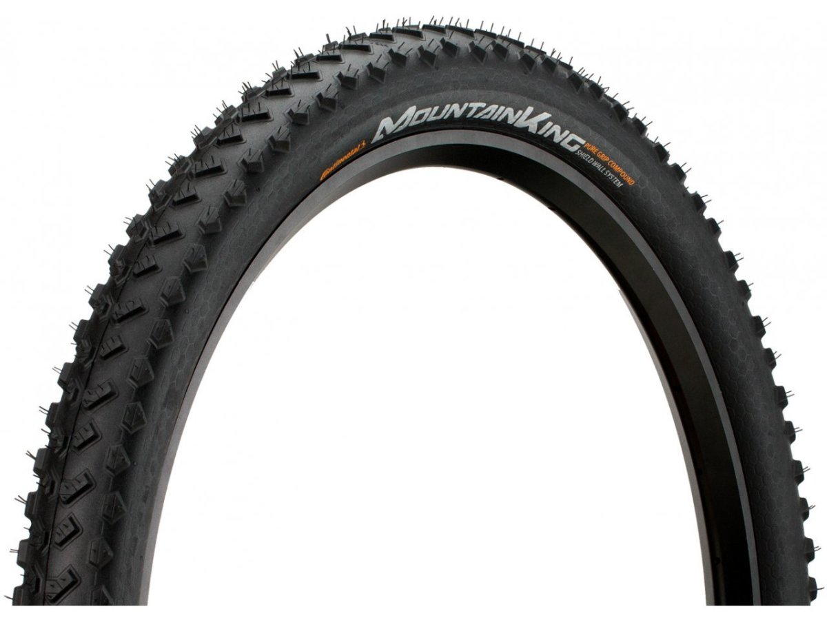 "Покрышка Continental Mountain King 27.5""x2.30, Foldable, PureGrip, ShieldWall 150289"