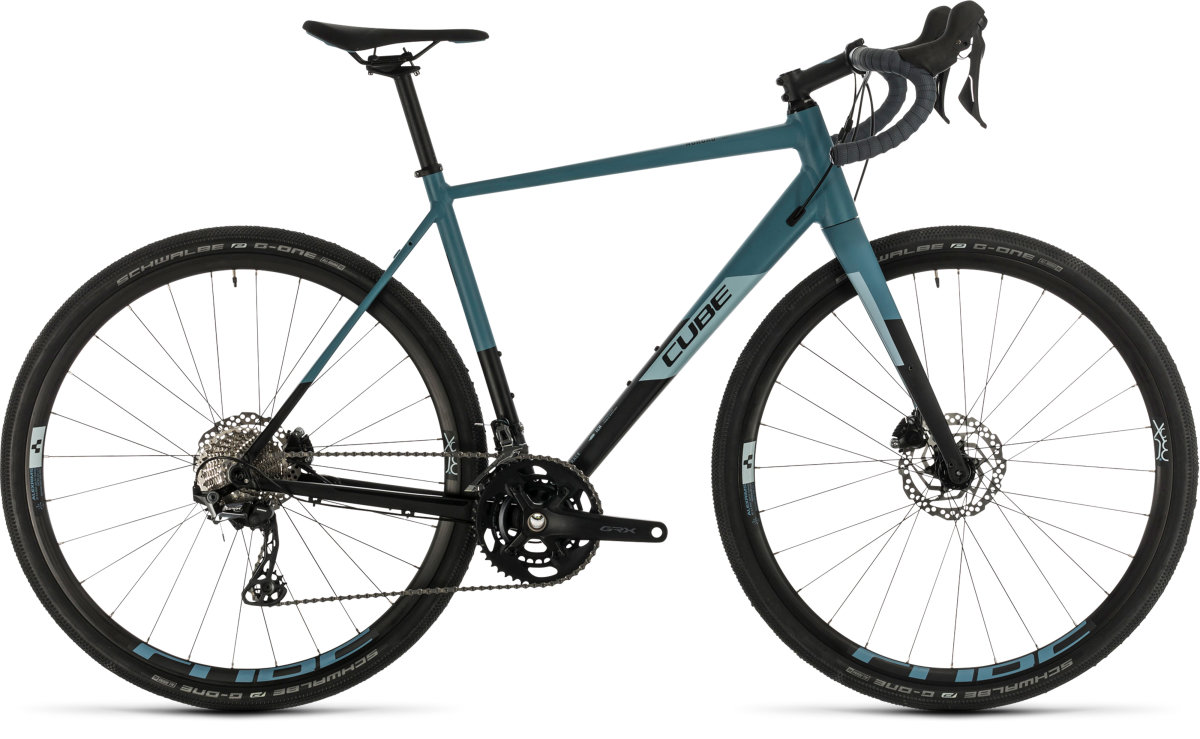 Велосипед Cube Nuroad Race black'n'greyblue 380200-61, 380200-53, 380200-58, 380200-56
