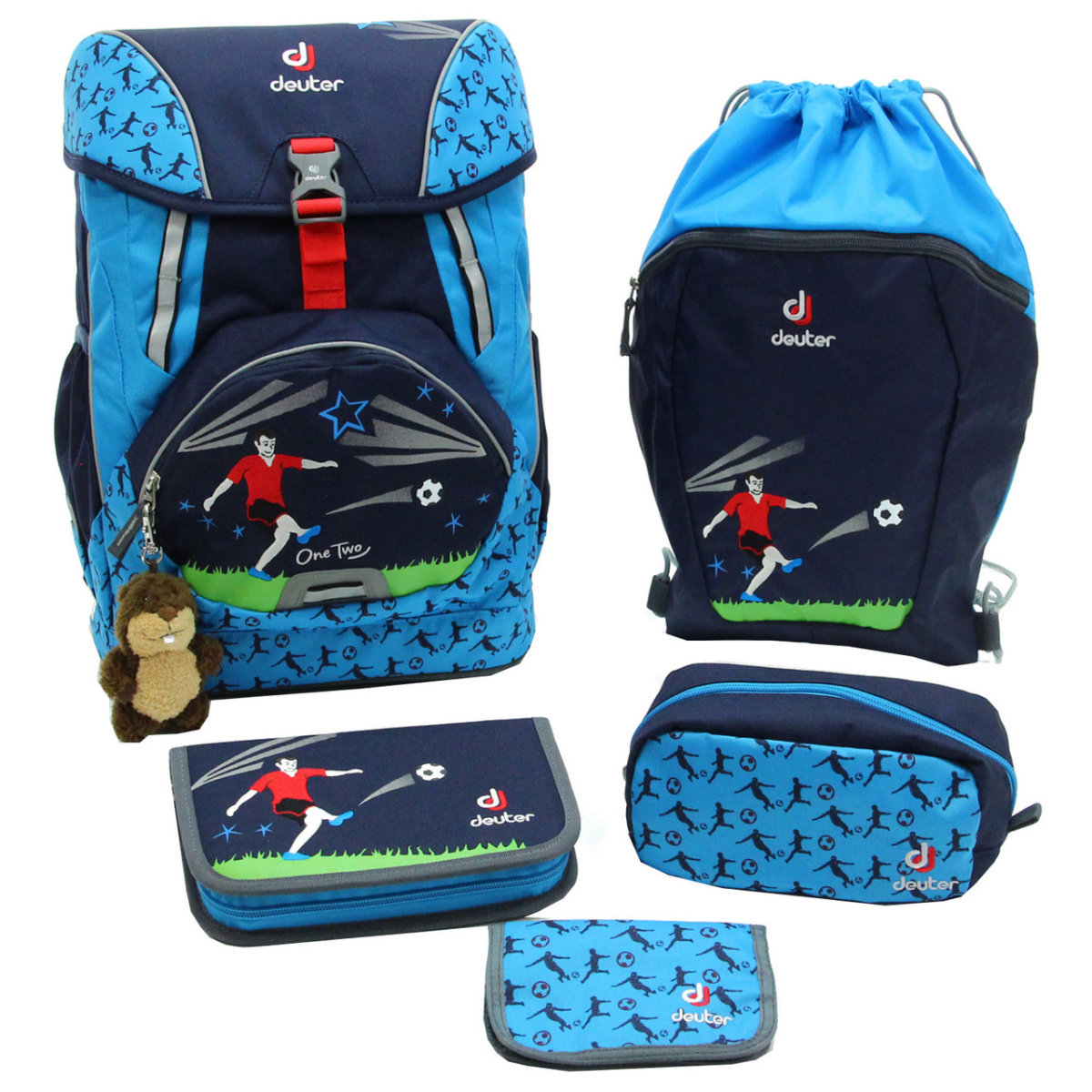 Набор сумок Deuter OneTwo Set - Sneaker Bag navy soccer 3880017 3045 (SET)