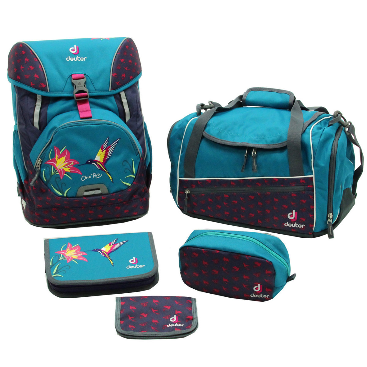 Набор сумок Deuter OneTwo Set - Hopper petrol bird 3880117 3044 (SET)