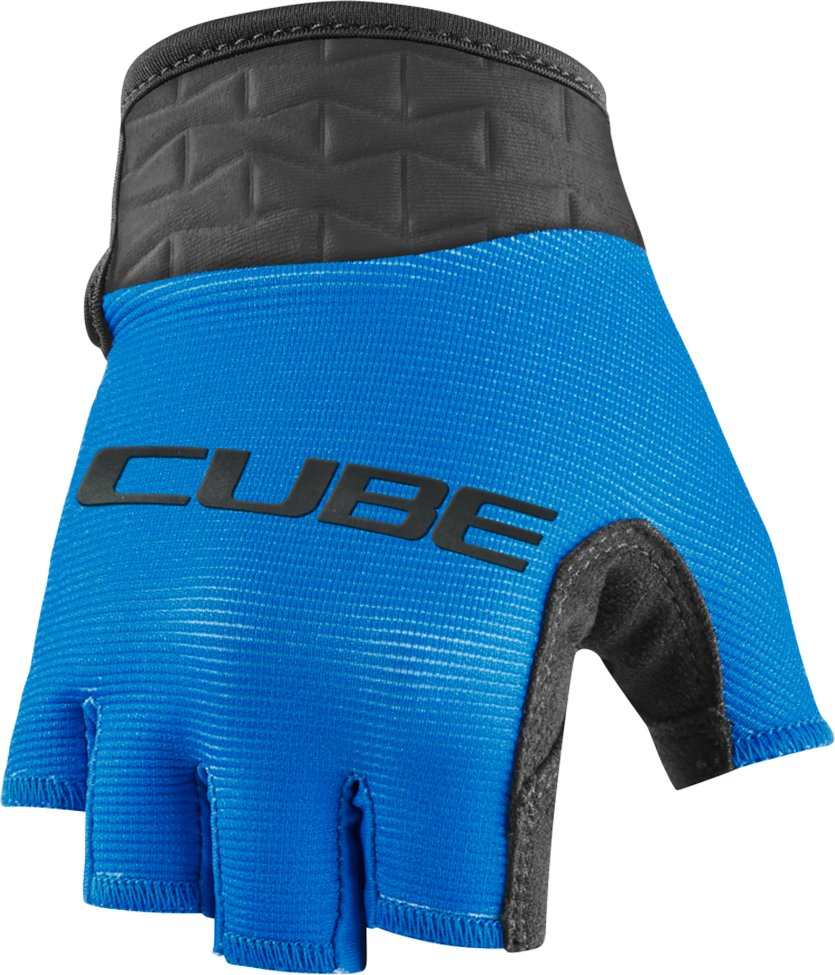Перчатки Cube Performance Junior Short Finger blue