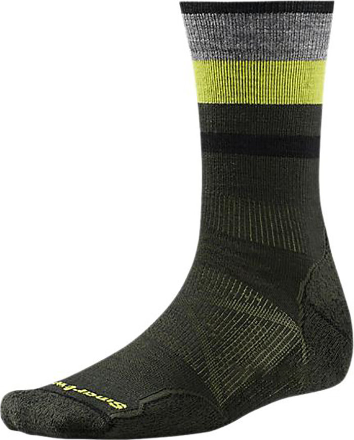 Носки Smartwool PhD Outdoor Light Pattern Crew (Forest) SW 01070.301-M