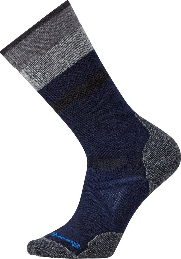 Носки Smartwool PhD Outdoor Medium Pattern Crew (Deep Navy/Medium Gray) SW 01072.431-M