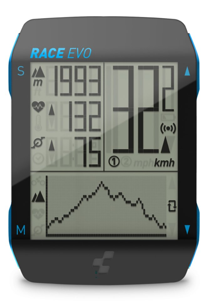 Компьютер Cube Race EVO black/blue 14029