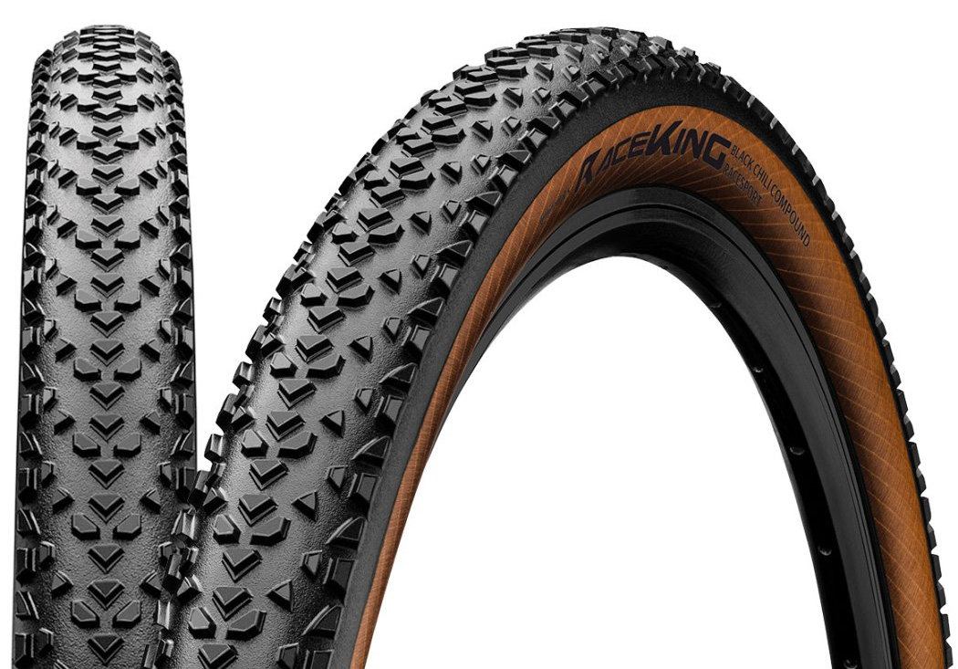 Покрышка Continental Race King RaceSport 27.5 x 2.20 черно-коричневая 1016910000