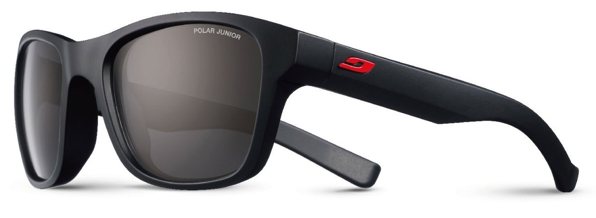 Очки Julbo Reach Matt black/red Polarized 3 Junior Grey J4649222