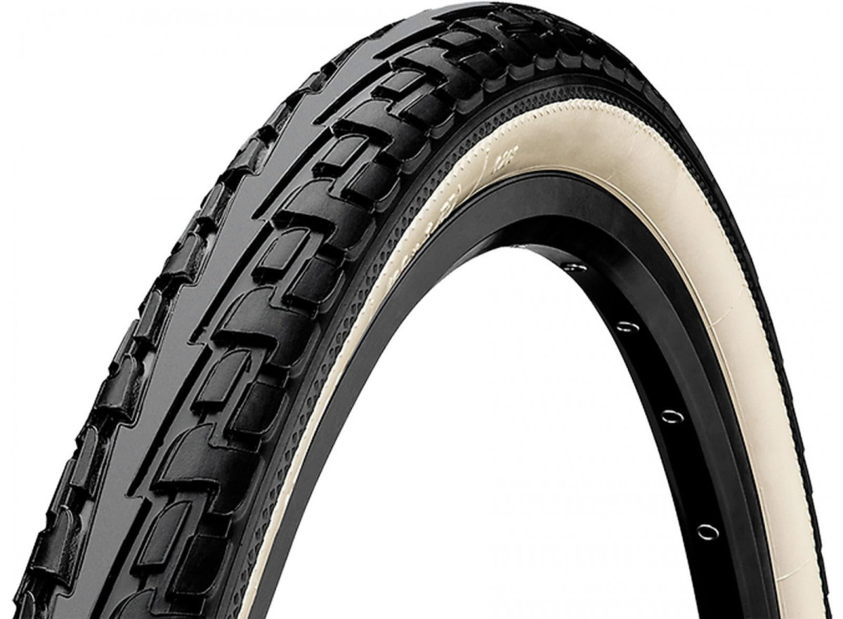 "Покрышка Continental Ride Tour, 26""x1.75, 47-559, Wire, ExtraPuncture Belt черно-белая"