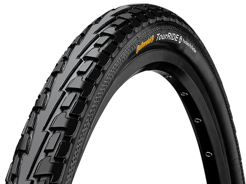 "Покрышка Continental Ride Tour 24"", 600x50C, 24x1.75, Wire, ExtraPuncture Belt 101143"