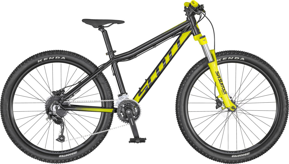 Велосипед Scott Scale 26 Disc black-yellow