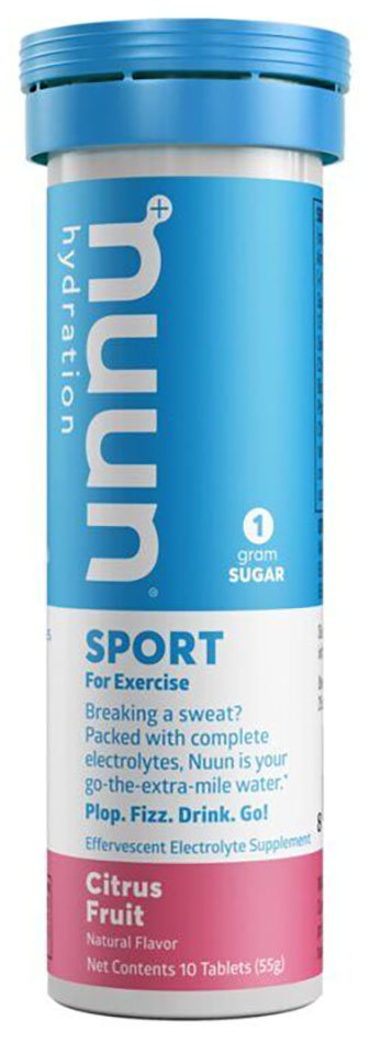 Концентрат электролитов Nuun Sport Citrus Fruit 811660020440