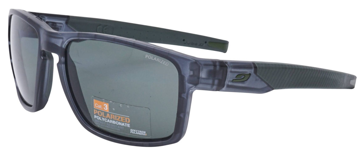 Очки Julbo Stream Transluscent black/army Polarized 3 Smoke J5179014