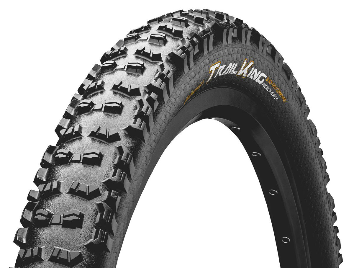 "Покрышка Continental Trail King 27.5""x2.60 Foldable, BlackChili, ProTection Apex 101382"