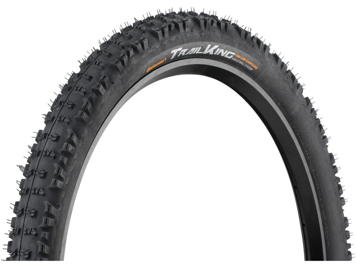 "Покрышка Continental Trail King 27.5""x2.4 Foldable, BlackChili, ProTection Apex 199590"