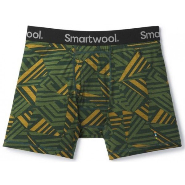 Трусы Smartwool Merino 150 Printed Boxer Brief Chive SW 14030.A20-S SW 14030.A20-XL