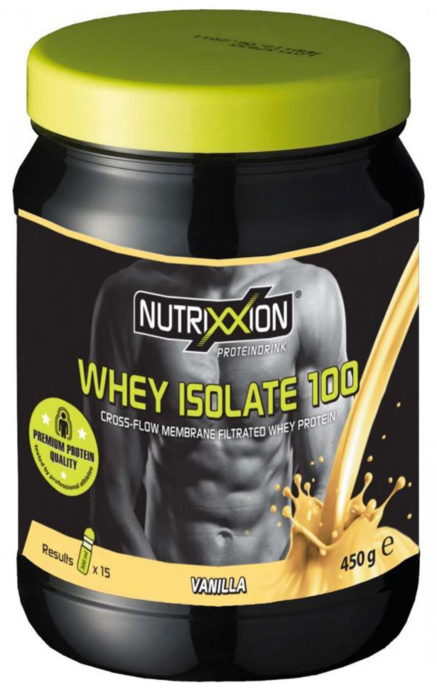 Протеин Nutrixxion Whey Isolate 100 Vanilla 450 г 441258