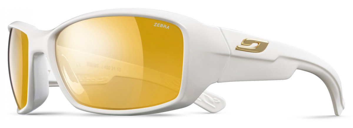 Очки Julbo Whoops Shiny white Reactiv Zebra Yellow/Brown J4003110