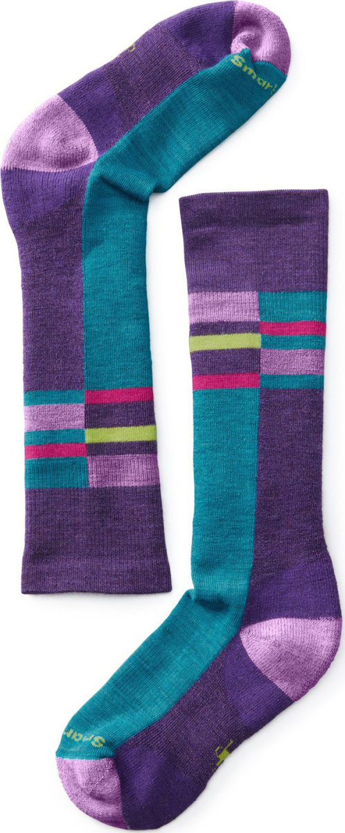 Носки детские Smartwool Wintersport Stripe (Mountain Purple) SW 01345.591-L SW 01345.591-M SW 01345.591-S SW 01345.591-XS