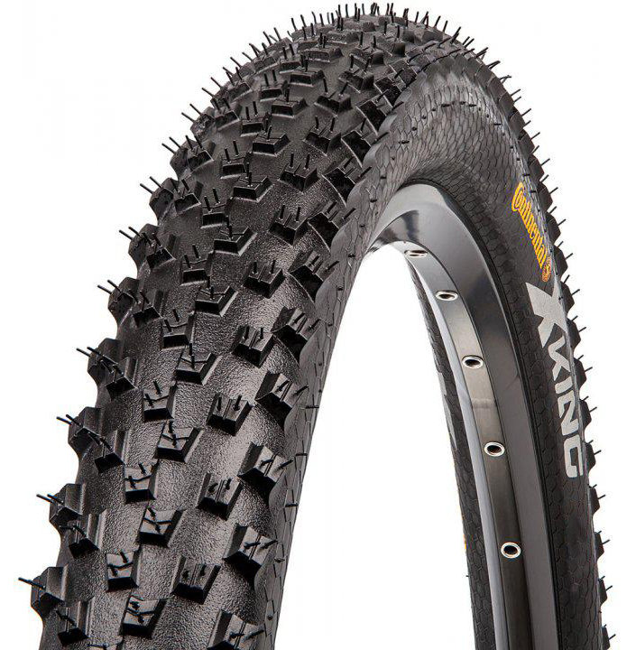 "Покрышка Continental X-King 27.5""x2,4 Foldable, PureGrip, Performance, Skin"